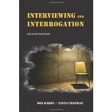 Interviewing and Interrogation, Used Book (9781594601958)