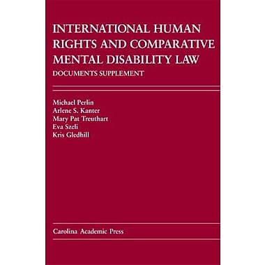 International Human Rights And Comparative Mental Disability Law Documents Supplement, Used Book (9781594602573)