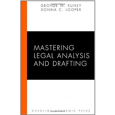 Mastering Legal Analysis and Drafting, Used Book (9781594606281)