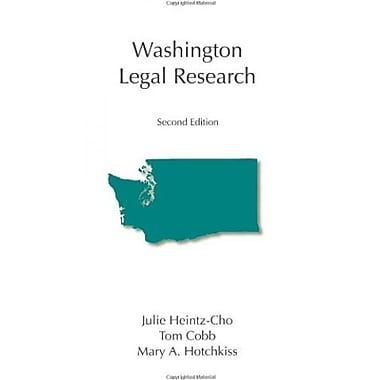 Washington Legal Research, Used Book (9781594607189)