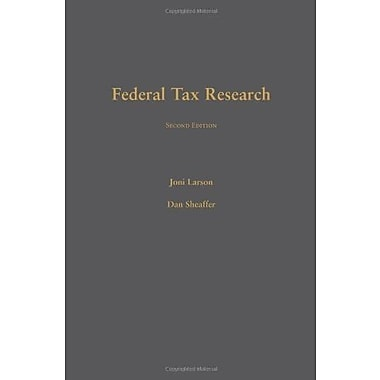 Federal Tax Research, Used Book (9781594608575)