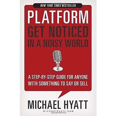 Platform: Get Noticed in a Noisy World Used Book (9781595555038)
