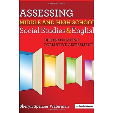 Assessing Middle and High School Social Studies & English: Differentiating Formative Assessment, Used Book (9781596671539)