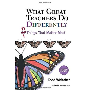 What Great Teachers Do Differently, 2nd Ed: 17 Things That Matter Most, Used Book (9781596671997)