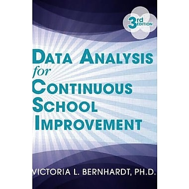 Data Analysis for Continuous School Improvement, Used Book (9781596672529)