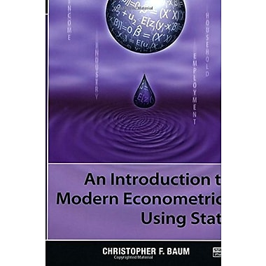 An Introduction to Modern Econometrics Using Stata, Used Book (9781597180139)