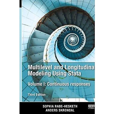 Multilevel and Longitudinal Modeling Using Stata, Volume I: Continuous Responses Third Edition, Used Book (9781597181037)