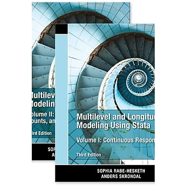 Multilevel and Longitudinal Modeling Using Stata, Volumes I and II Third Edition, Used Book (9781597181082)