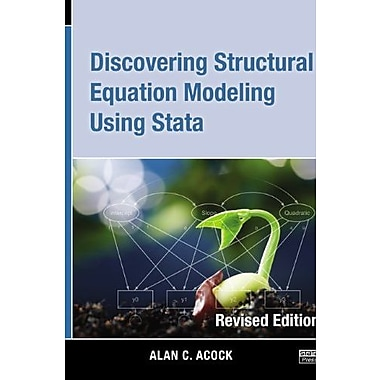 Discovering Structural Equation Modeling Using Stata 13, Used Book (9781597181396)