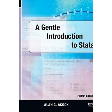 A Gentle Introduction to Stata, Fourth Edition Used Book (9781597181426)