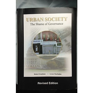 Urban society: the shame of governanace revised, Used Book (9781597380386)