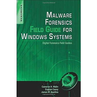 Malware Forensics Field Guide for Windows Systems: Digital Forensics Field Guides Used Book (9781597494724)