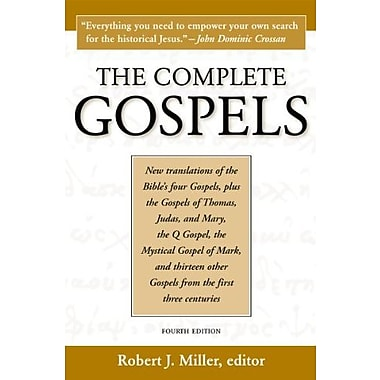 The Complete Gospels, 4th Edition, New Book (9781598150186)