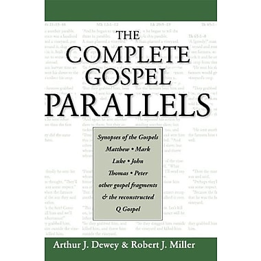 The Complete Gospel Parallels, New Book (9781598150353)