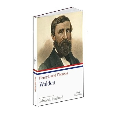 Henry David Thoreau: Walden (Library of America), New Book (9781598530636)