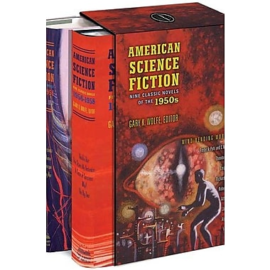 American Science Fiction: Nine Classic Novels of the 1950s, New Book (9781598531572)
