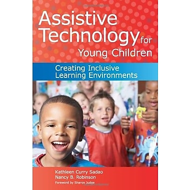 Assistive Technology for Young Children: Creating Inclusive Learning Environments, New Book (9781598570915)