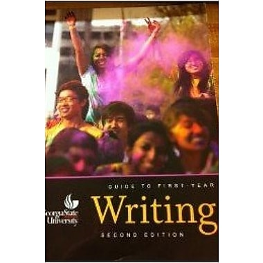 Georgia State University Guide to First-Year Writing, New Book (9781598716931)