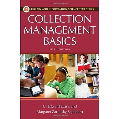 Collection Management Basics (Library and Information Science Text Series), New Book (9781598848632)