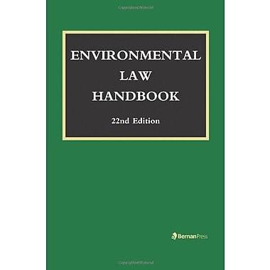 Environmental Law Handbook, New Book (9781598886672)