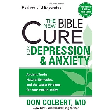 The New Bible Cure For Depression & Anxiety, New Book (9781599797601)
