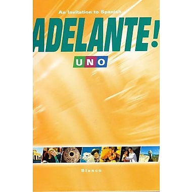 Adelante! Uno: An Invitation to Spanish, New Book (9781600076091)