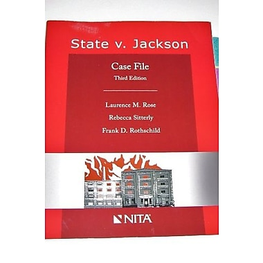 STATE V JACKSON-W/CD, New Book (9781601560889)