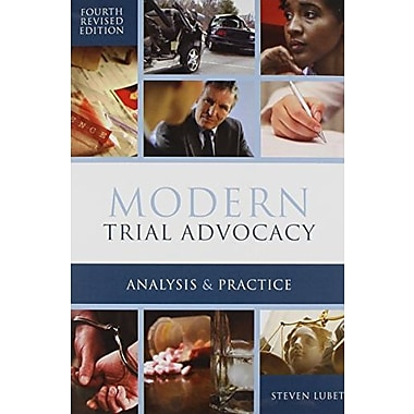 Modern Trial Advocacy, New Book (9781601563316)