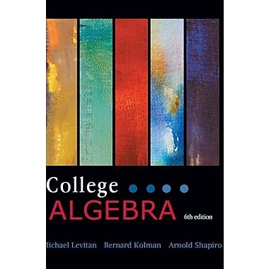 COLLEGE ALGEBRA, New Book (9781602298774)