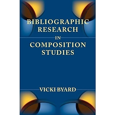 Bibliographic Research in Composition Studies (Lenses on Composition Studies), New Book (9781602351318)