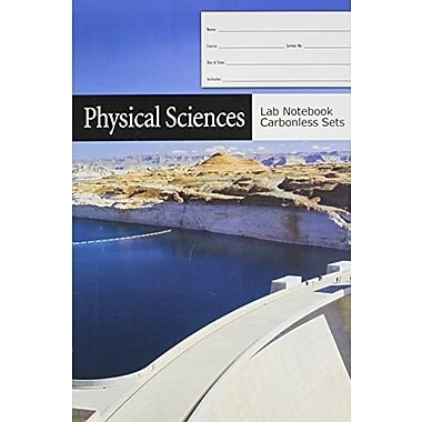 Physical Sciences Lab Notebook Carbonless Sets, New Book (9781602500839)