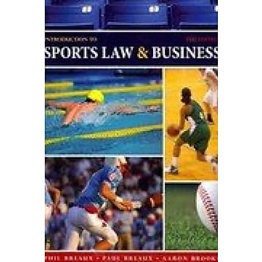 Introduction to Sports Law AND Business, New Book (9781602501379)
