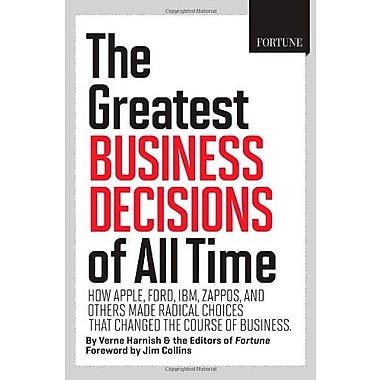 FORTUNE The Greatest Business Decisions of All Time, Used Book