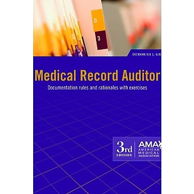 Medical Record Auditor, New Book (9781603592949)