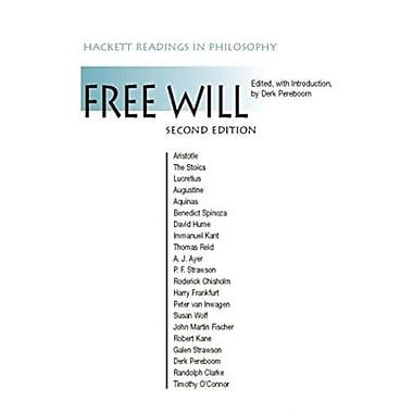 Free Will (Hackett Readings in Philosophy), New Book (9781603841290)