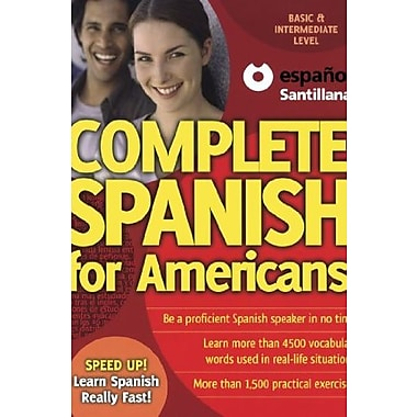 Complete Spanish for Americans (Speed Up!) (Spanish Edition), New Book (9781603962155)