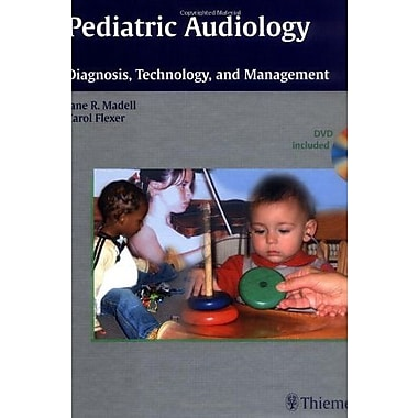 Pediatric Audiology: Diagnosis, Technology, and Management (Book and DVD), New Book (9781604060010)