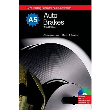 Auto Brakes, A5 (G-W Training Series for Ase Certification), New Book (9781605250496)