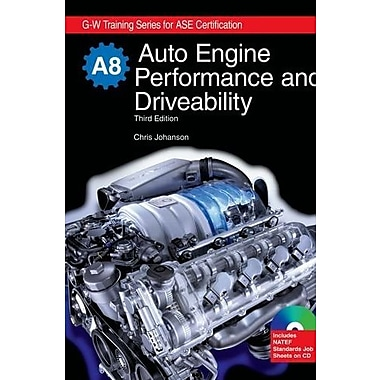 Auto Engine Performance and Driveability, A8, New Book (9781605250540)