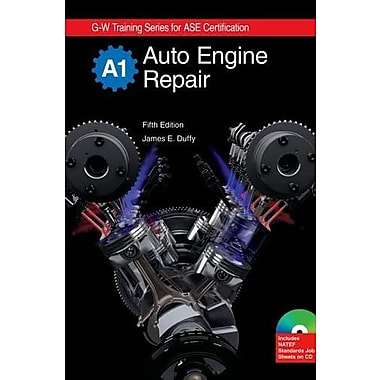 Auto Engine Repair, A1 (G-W Training Series), New Book (9781605251936)