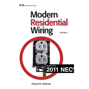 Modern Residential Wiring, New Book (9781605255828)
