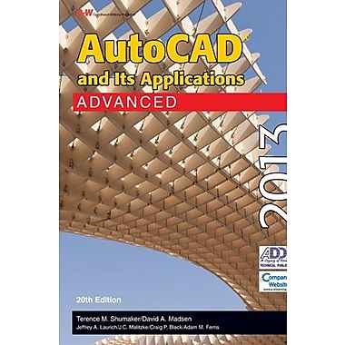 AutoCAD and Its Applications Advanced 2013, New Book (9781605259215)