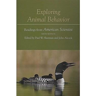 Animal Behavior: An Evolutionary Approach, Tenth Edition with Exploring Animal Behavior, Sixth Edition, New Book