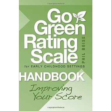 Go Green Rating Scale for Early Childhood Settings Handbook: Improving Your Score, New Book (9781605540078)