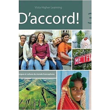 D'Accord 3 - Includes Student Edition and Supersite Code, New Book (9781605767826)