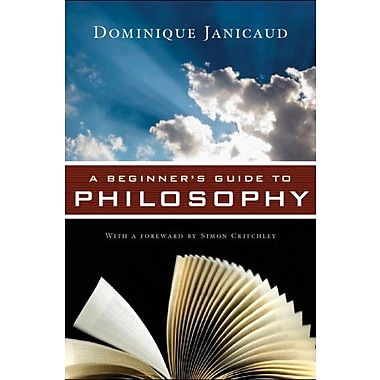 A Beginner's Guide to Philosophy, New Book (9781605980010)