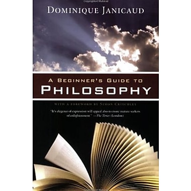 A Beginner's Guide to Philosophy, New Book (9781605980782)