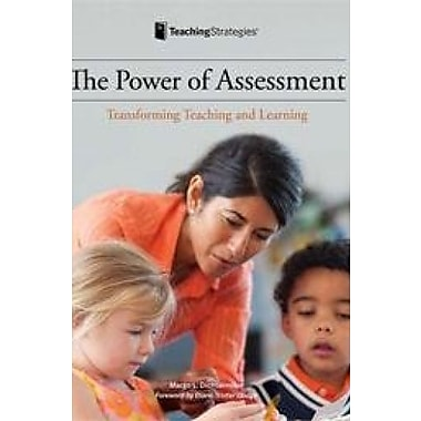 Power of Assessment Transforming Teaching and Learning, New Book (9781606173923)