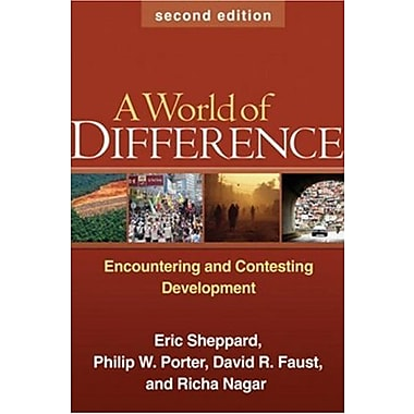 A World of Difference, Second Edition: Encountering and Contesting Development, New Book (9781606232637)