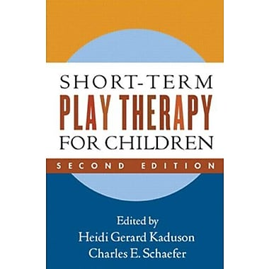 Short-Term Play Therapy for Children, Second Edition, New Book (9781606233535)